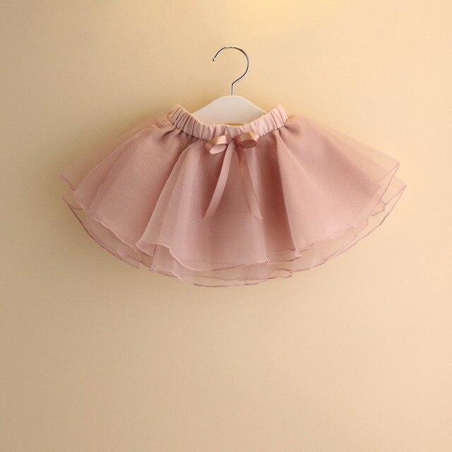39c908cb0d Meninas da forma Do Bebê Kid Crianças Infantil Tutu Dancewear Saia Ballet  Traje Roupas de Tule