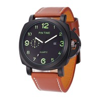 OM 10 Men Sport Wrist Watch Wholesale Cheap Price Fashion Quartz Movement Relogio Masculino Gift Time Clock Pintime