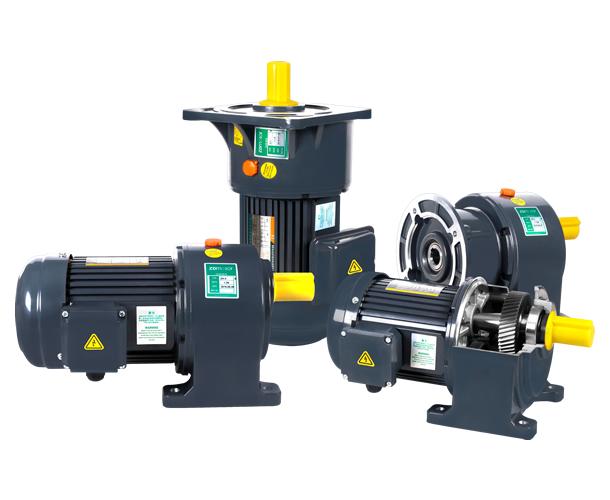 Large horizontal gear reducer ZD750W induction constant motor 40 AC conveyor belt motor large angle circular conveyor belt