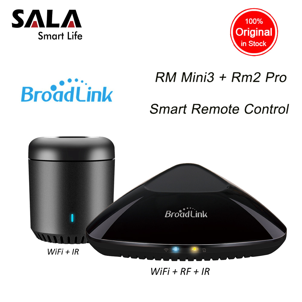Broadlink RM Pro Mini3 Smart Home Automation Remote Control Systems Intelligent IR RF Wifi Controller Hub Work with Alexa Google цена и фото