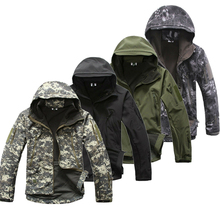 WIOOD HEAD Lurker Shark Skin Softshell V5 Military Tactical Jacket Men Clothing