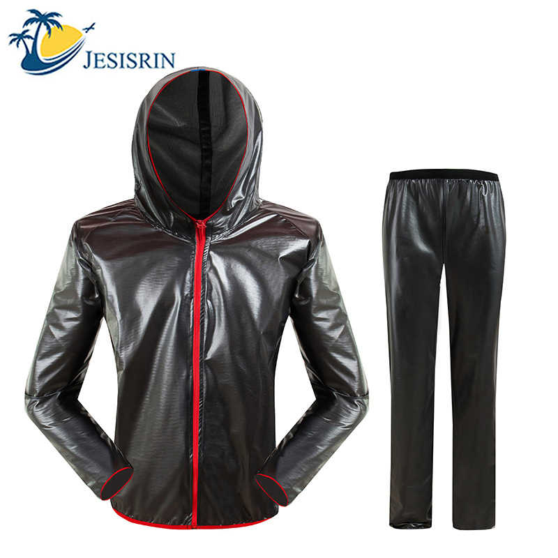 Upgraded Waterproof Raincoat Suit Outdoor Fishing Fashion Sports Raincoat Unisex Riding Motorcycle Rainwear Suit Adult Rain Jack