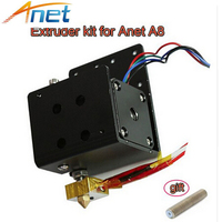 Anet MK8 Extruder Motor Kit 0.4mm Nozzle 30mm Extruder Throat 12V 40W Heater Thermistor Aluminum Heater Block For A8 A6 Printer