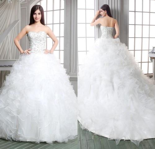 Romantic Ball Gown Wedding Dresses
