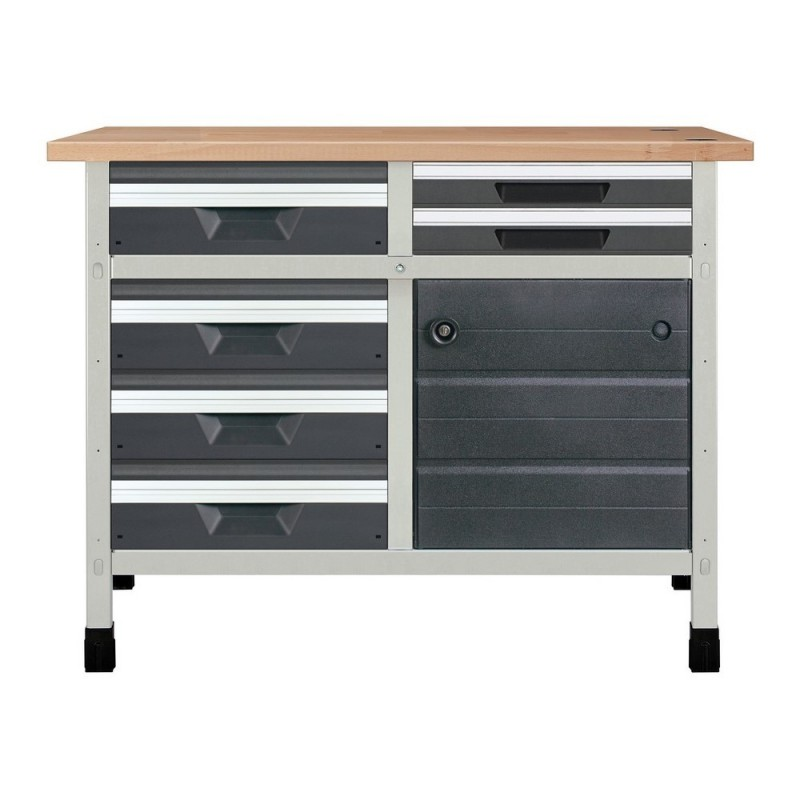 WOLFCRAFT 8067000-Bank 113 Cm 1 Modulo 4 Drawers M And 1 Modulo 2 Drawers S And Gate 1130 X 650x860mm