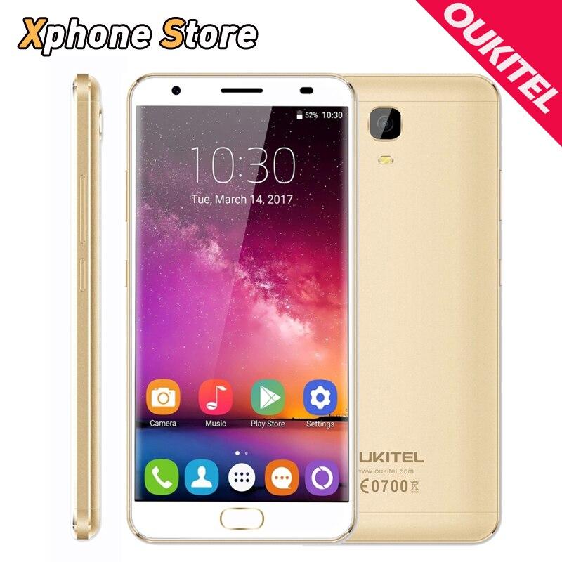 Original OUKITEL K6000 Plus Android 7.0 4GB RAM 64GB ROM 1080P 16.0MP Camera 5.5 inch Dual SIM Phones