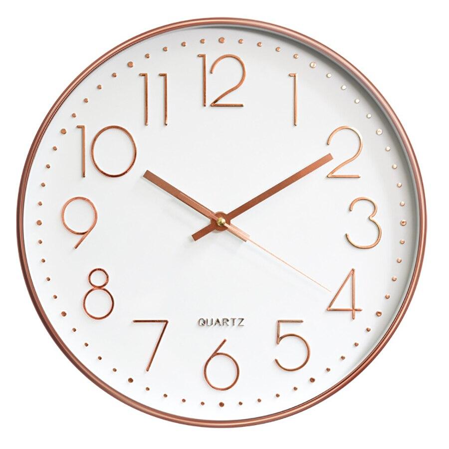 US $22.74 42% OFF|Retro Wall Clock Modern Design Digital Vintage Clock  Mechanism Wall Watches Horloge Murale Kitchen Silent Clock Home Decor  5Q139-in ...