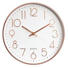 Retro Wall Clock Modern Design Digital Vintage Clock Mechanism Wall Watches Horloge Murale Kitchen Silent Clock Home Decor 5Q139 раковина керамин омега 55 см графит