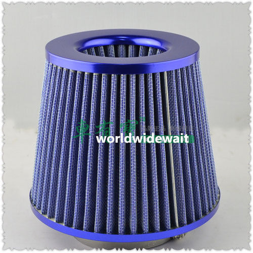 Large Flow Air Filter 76mm Port Mushroom Head Intake Reloaded Cleaner Universal epman universal 3 aluminium air filter turbo intake intercooler piping cold pipe ep af1022 af