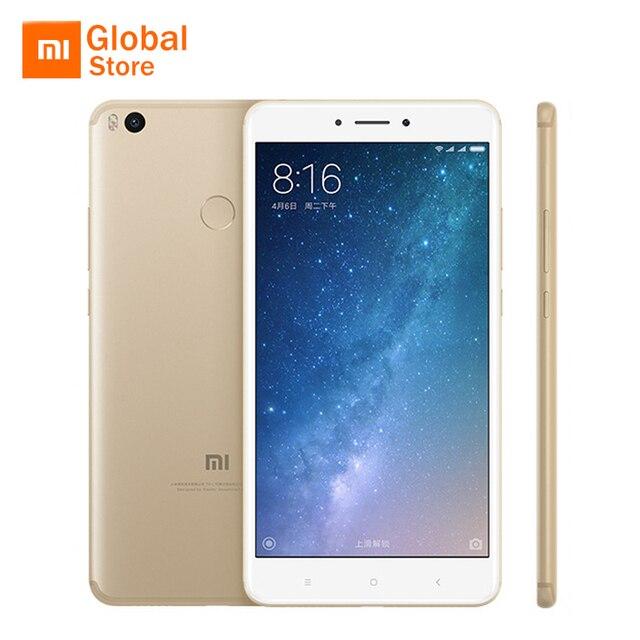 """Глобальная версия Сяо Mi Max 2 Max2 мобильный телефон 4 ГБ 64 ГБ Встроенная память Snapdragon 625 Octa core 5300 мАч 6.44 """"1920x1080 P отпечатков пальцев"""