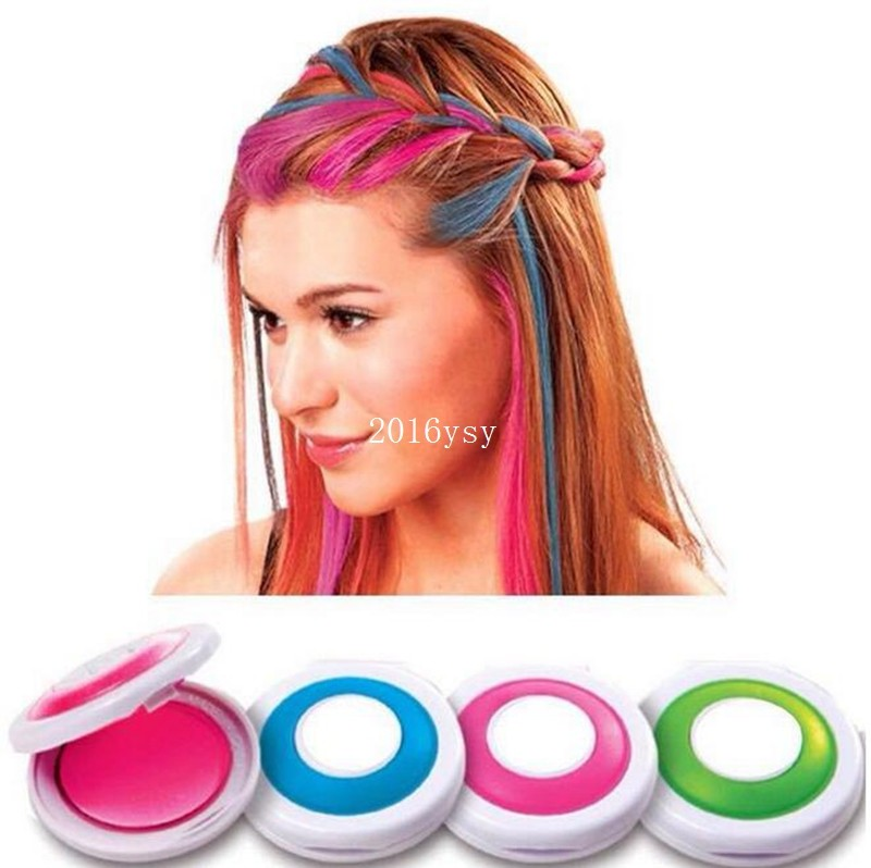 300 Set With 4 Colors Hair Color Professional Compact Pressed