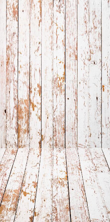HUAYI 5x10ft( wall 2m floor 1m) Vintage Wooden Floor Background photography Newborn Photo Studio Prop Backdrop XT-4895