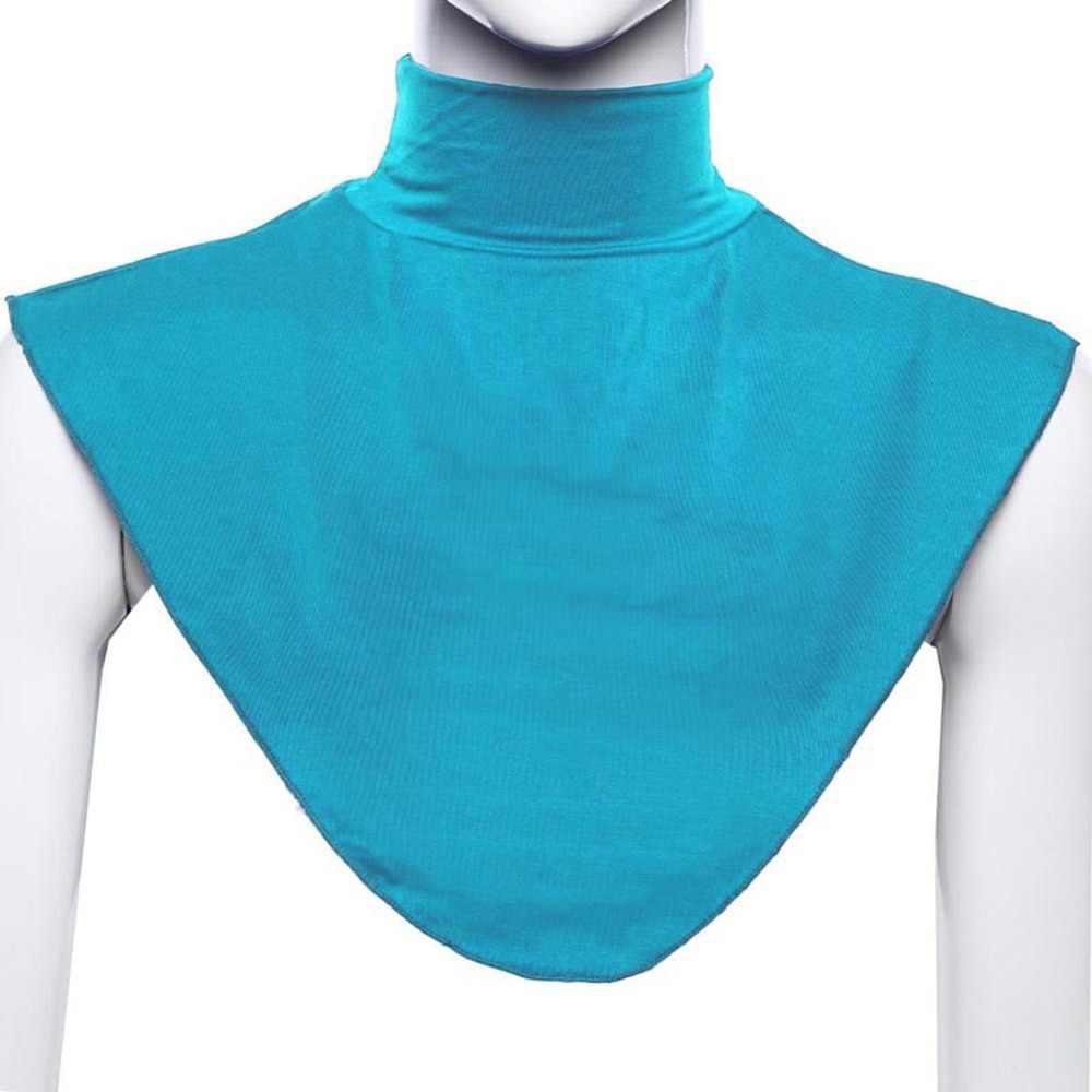 Donne islamiche Hijab Estensioni Neck Arrivo Della Copertura Posteriore Islamico Camicia Under Top Abaya