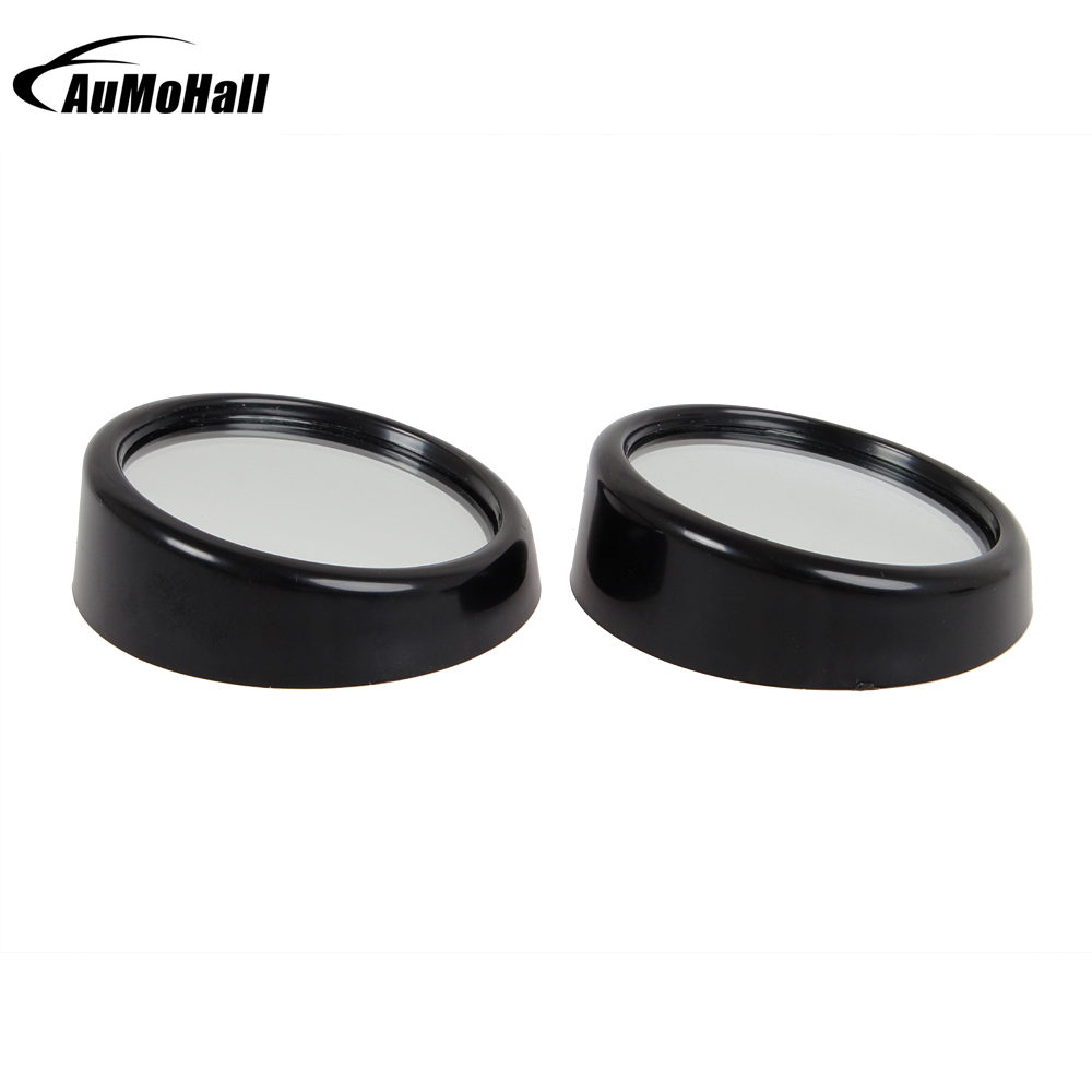 2 X 2 inch Silver Blind Spot Rear View Mirrors Rearview Wide Angle Round Convex Mirror for Car Truck
