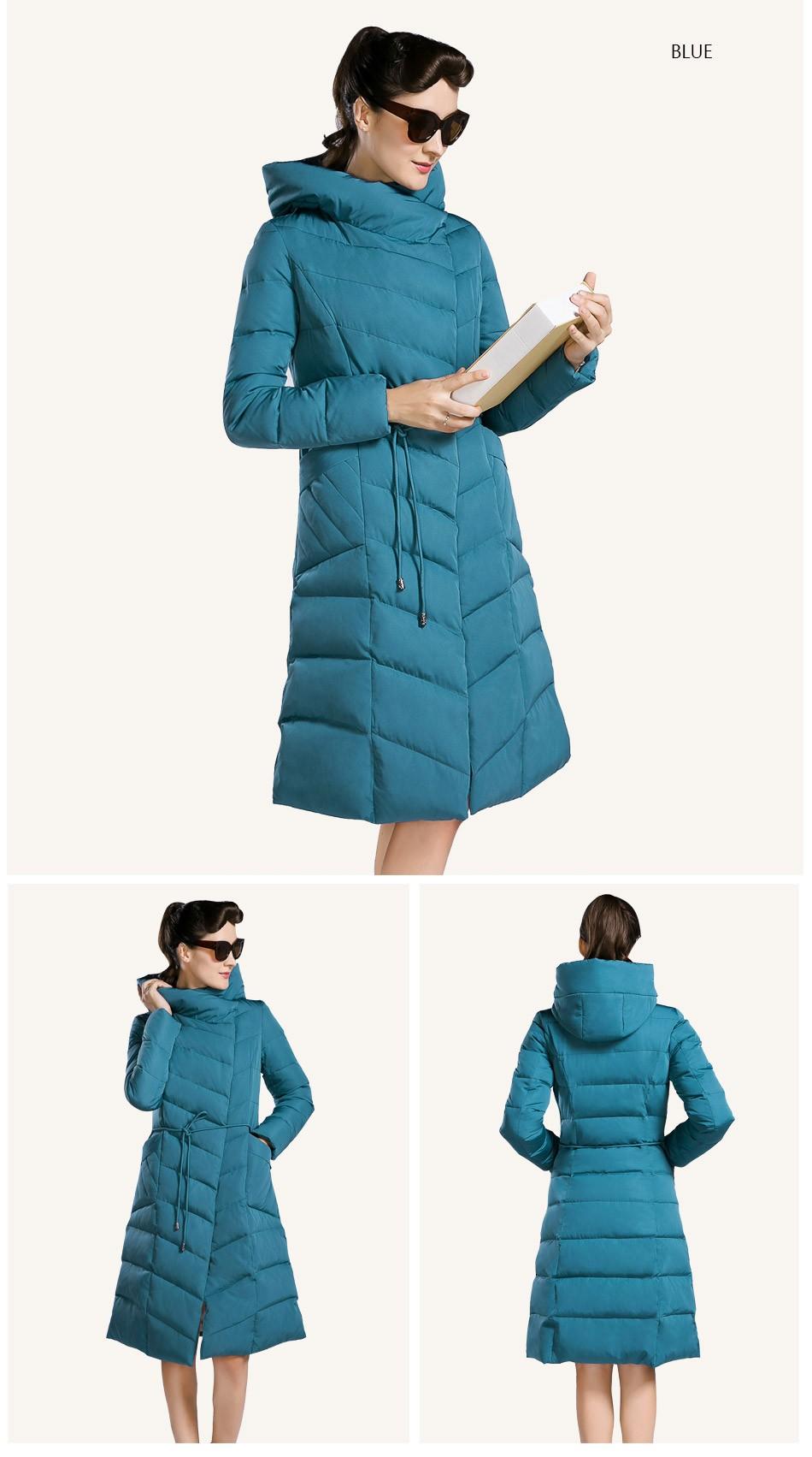 Hooded Size Parka Coat 5