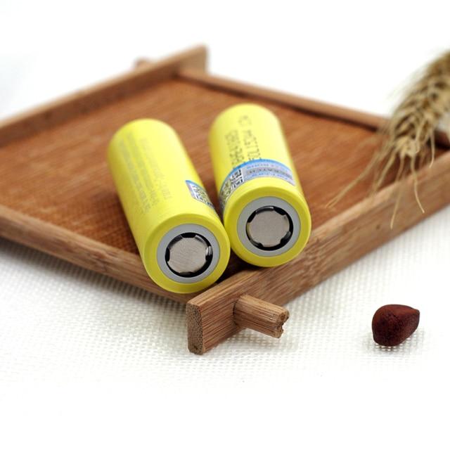 New Original HE4 2500mAh Li-lon Battery 18650 3.7V Power Rechargeable batteries Max 20A,35A discharge For E-cigarette 4