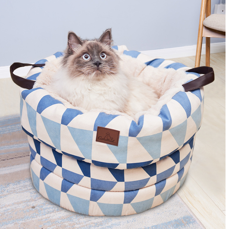Fantastic Us 25 6 36 Off Luxury Dog Baskets Winter Warm Cats House Pug Hamster Maltese Dog Bed Sofas Sleep Site Square Round Shape Pet Goods In Houses Machost Co Dining Chair Design Ideas Machostcouk