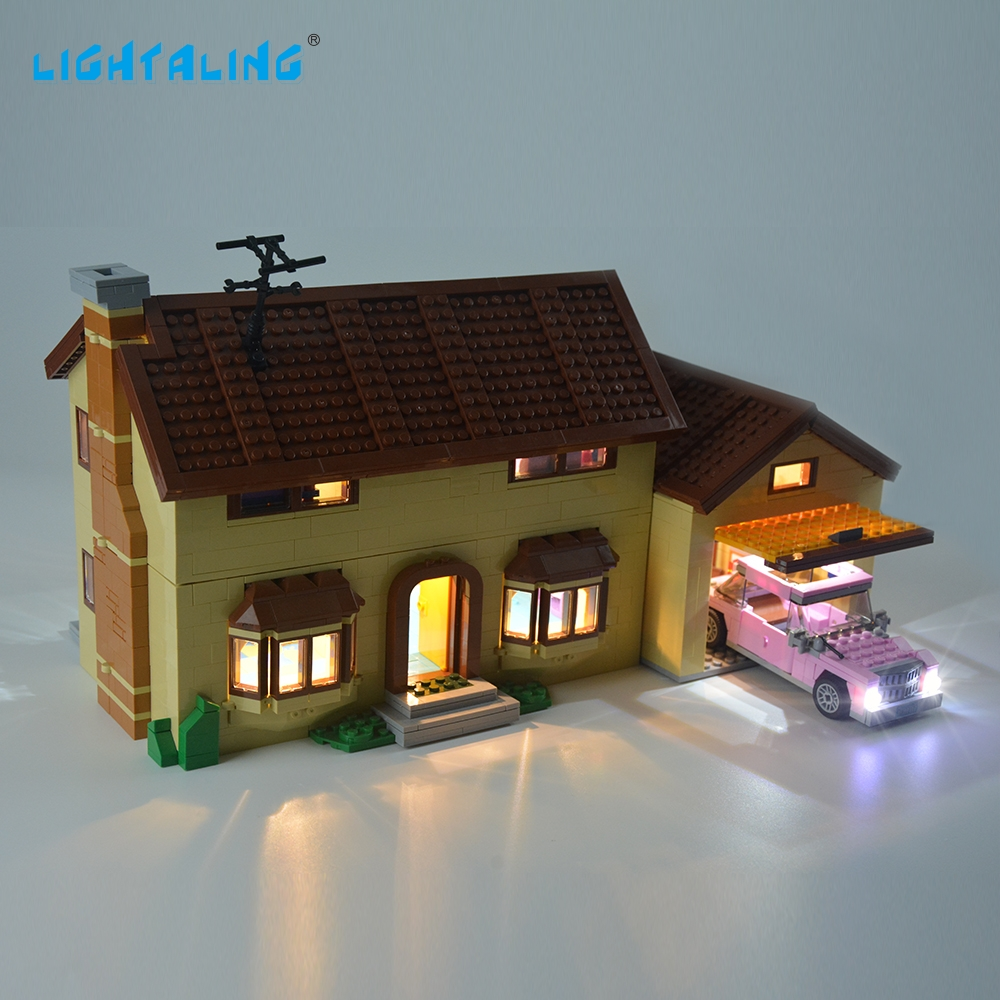 LIGHTALING The House Light Set Light Kit Compatible With 71006 And 16005 NOT Include The Model