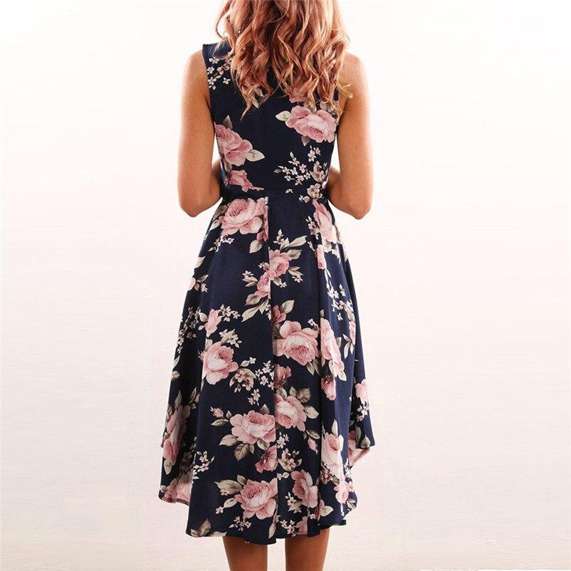 e7047f0a875 ... 2018 Fashion summer dress women beach dress Off Shoulder Floral Short  Mini Dress Ladies Party Dresses ...