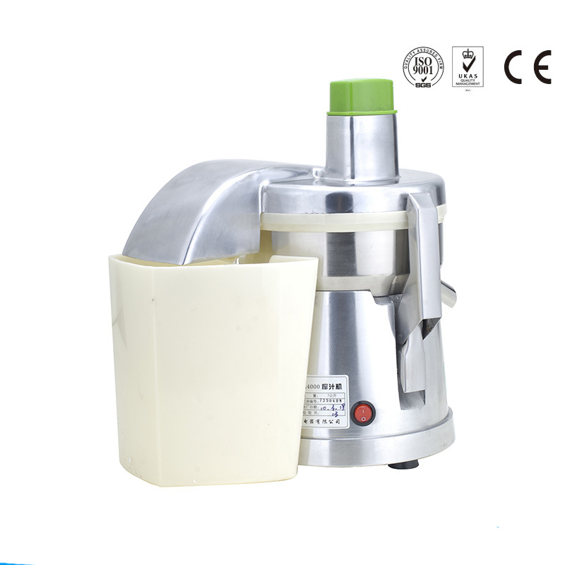 A4000 heavy duty commercial juicer,commercial juice extractor,aluminum body and s/s blades bowl ,factory directly sale,