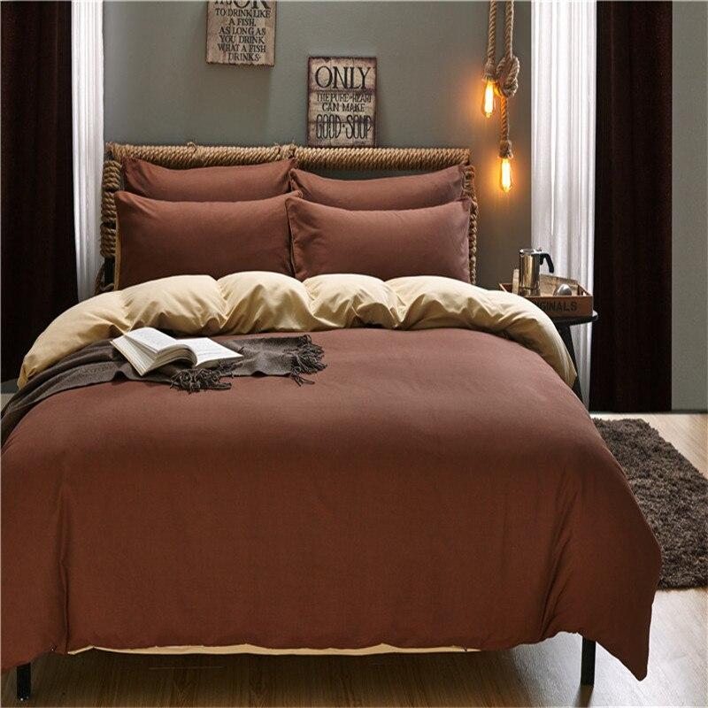 Jednobojni Jednostavno Život Posteljina Set Poliester Duvet Cover - Tekstil za kućanstvo - Foto 4