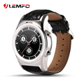 Nova lemfo a8s smart watch phone sim apoio tf cartão bluetooth 4.0 mp3 huawei smartwatch para apple ios smartphone android