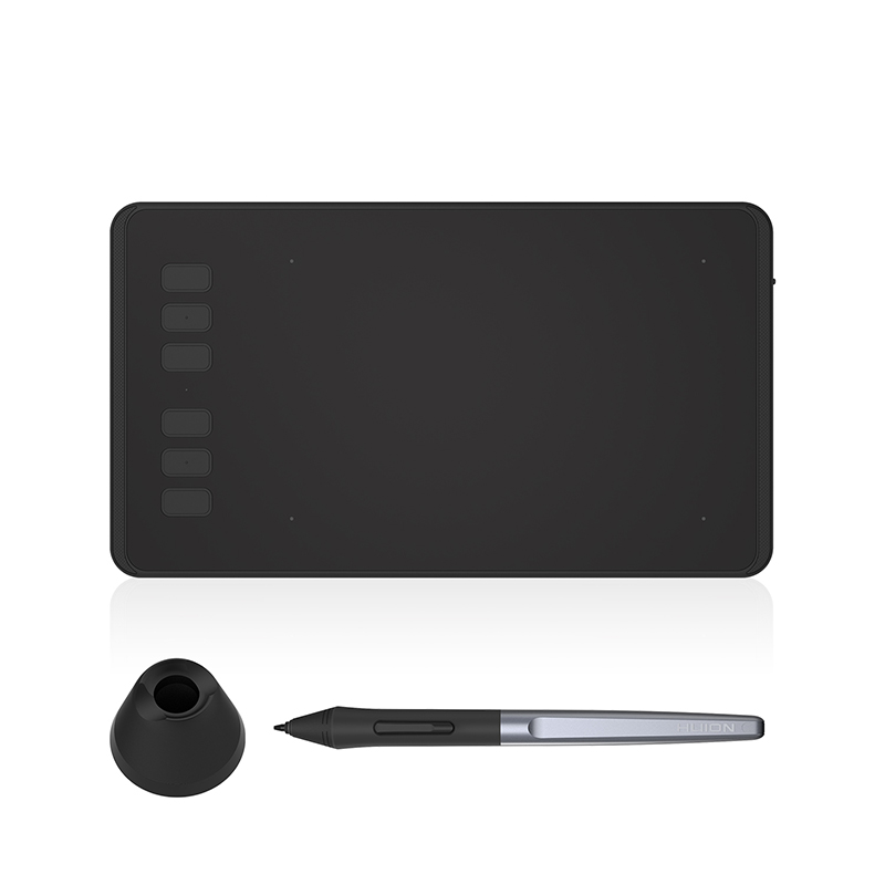 HUION H640P Pouces Numérique Stylo Tablette Graphique Dessin Comprimés 8192 Niveaux de Pression Passive Stylo avec Batterie-livraison pour OSU jeu