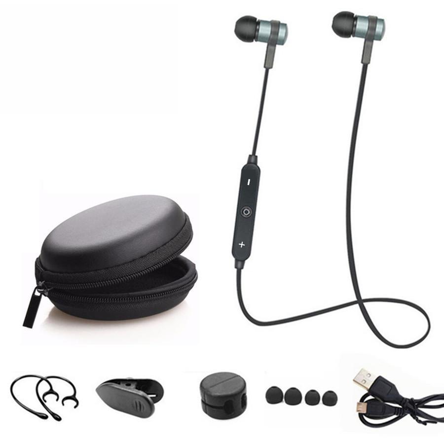Sport Running Bluetooth Headset Wireless Earphone Headphone Bluetooth Earpiece With Mic Stereo Earbuds For all phone sport running v4 1 bluetooth headset wireless earphone headphone bluetooth earpiece stereo earbuds with microphone auriculares