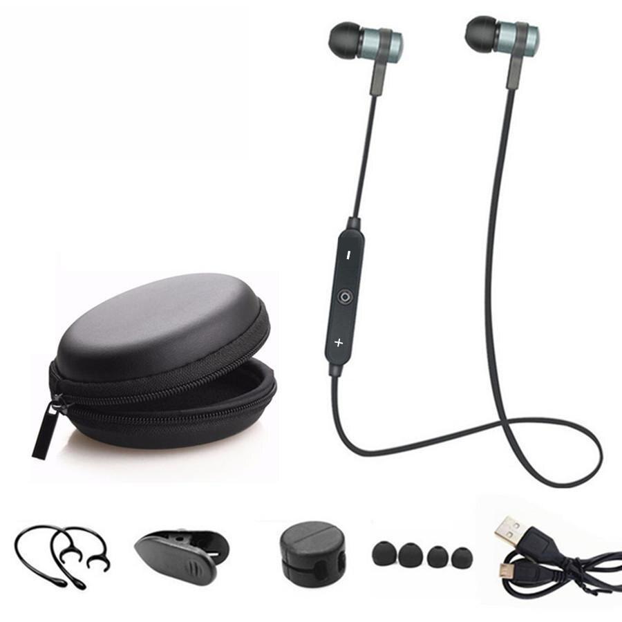 Sport de Course Bluetooth Casque Sans Fil Écouteurs Casque Bluetooth Écouteur Avec Micro Stéréo Écouteurs Pour tous les téléphones