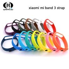 Mi Band 3 4 Strap wrist strap for Xiaomi xiaomi mi band accessories bracelet Miband