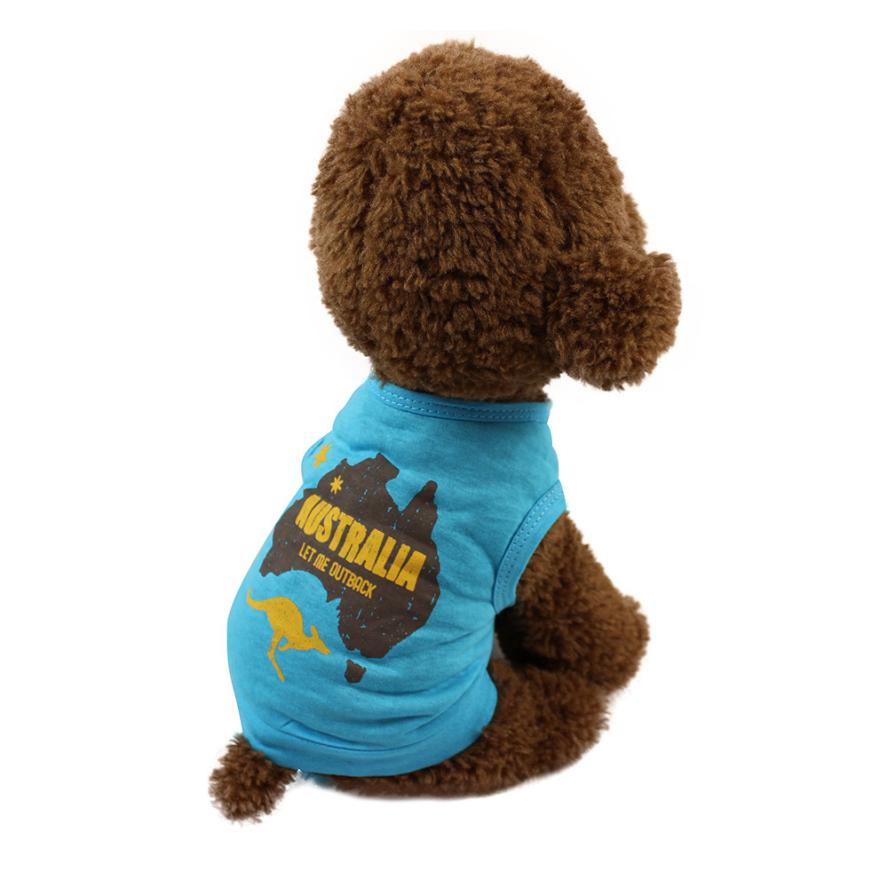 Australia Let Me Outback Spring Summer Cute Chubby Pet Dog Cat T