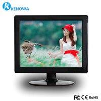 15 inch 4:3 1080p HDMI VGA USB TV Wall mounted Advertising Display Screen Portable Monitor for PC Laptop Monitoring