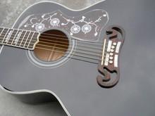 2017 new arrival guitar j200 guitar Black J200 Acoustic Guitar Classic OEM Musical instruments Free Shipping Wholesale