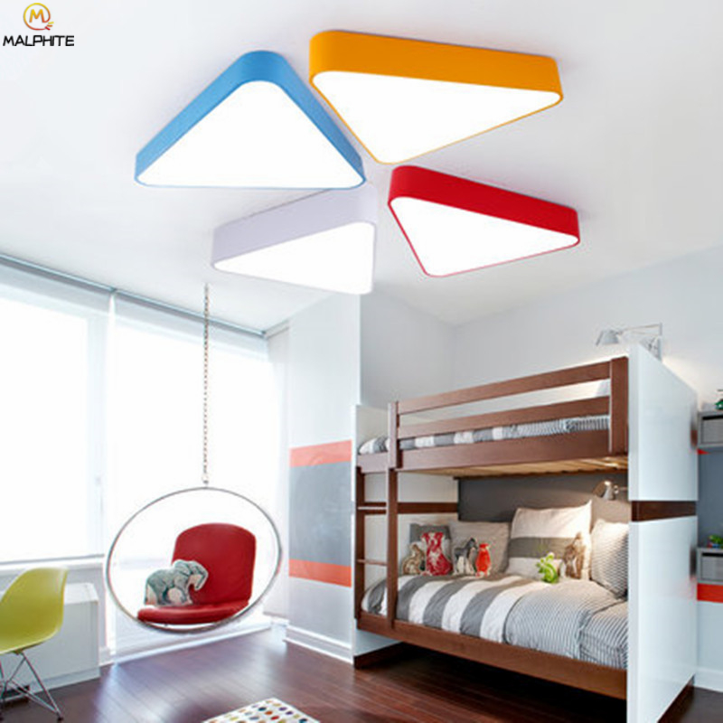 Big Discount #d93ae - Nordic Triangle LED Ceiling Light ...