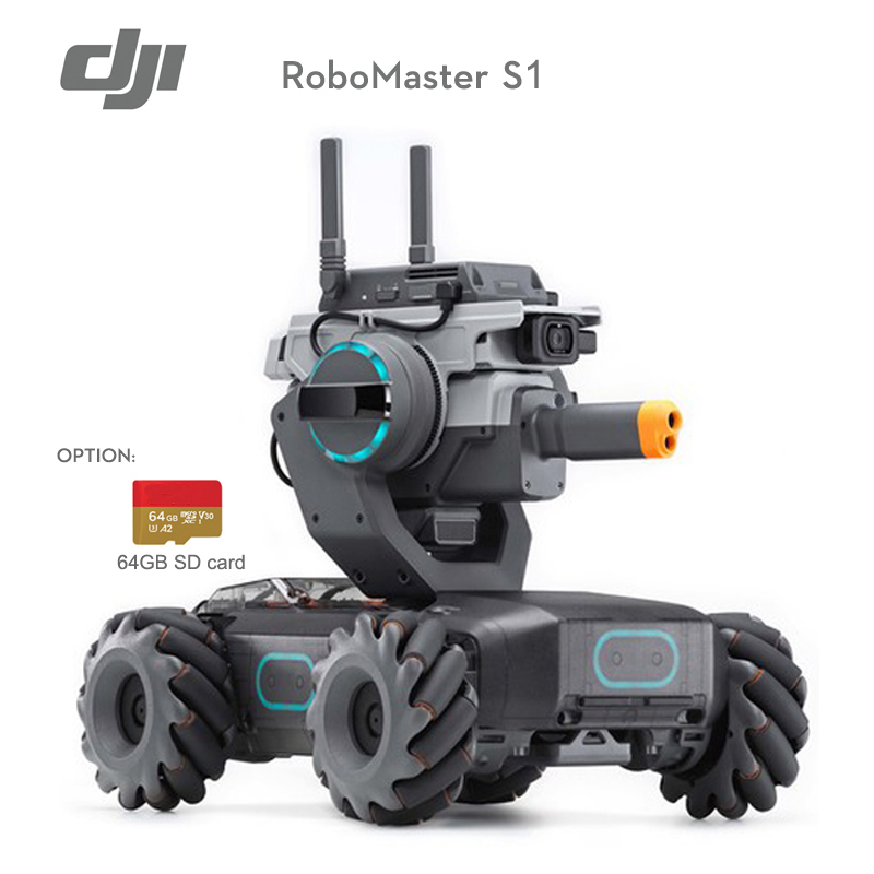 In Stock DJI RoboMaster S1 Is Intelligent Educational Robot That Lets Users Dive Into The World Of Robotics(China)