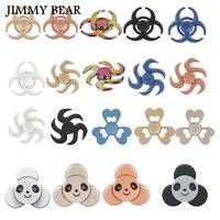 JIMMY BEAR 1 Pcs EEDC Fidget Spinner Hand Spinner Fidget Toy Anxiety Stress Adults Kid Metal
