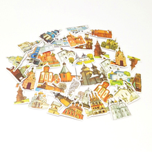 Lots Set A variety of Castles Sickers Creative Stickers DIY Diary Decoration Laptops Notebooks Cars Motorcycles
