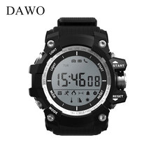 DAWO Bluetooth Smart Round Hand Ring Message Call Alert Mountaineering Fitness Tracking Bracelet Android IOS Band Waterproof