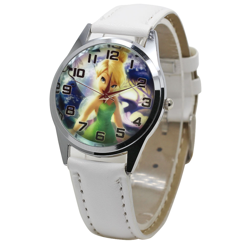 Fashion 3D Cartoon Design Children's Watch Pink White Cute Girl Leather Clock Casual Quartz Boy  Kid Watch Relogios Feminino