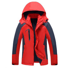 Men's Autumn And Winter Outdoor Waterproof Jacket Camping Hiking Cycling Fishing Hunting Mountaineering Sports Jacket Warm coat