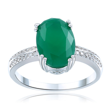 malaysian jade wedding rings wholesale us 6 7 8 9 10 cz zircon new fashion jewelry for women hot sale oval cut engagement ring - Jade Wedding Ring