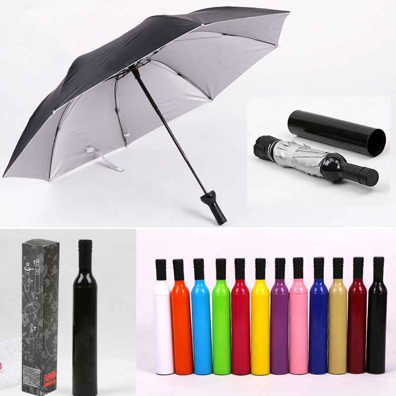 LGBT Marijuana Pride Automatic Tri-Fold Umbrella Parasol Sun Umbrella Sunshade