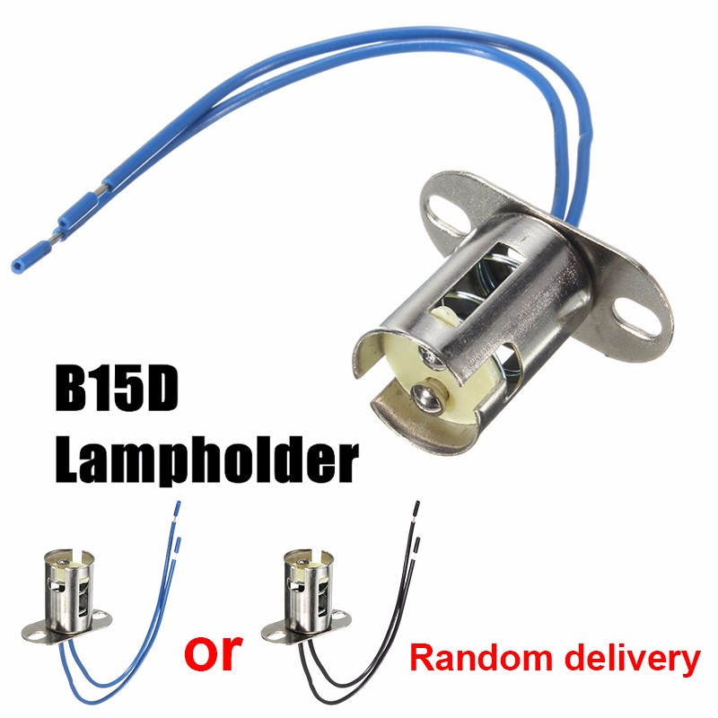 1157 B15/B15D BA15D Base LED Light Bulb Lamp Holder Cable Wire Adapter Socket Converter With Wire For LED Light Bulb Lamp