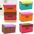 Storage Box Bag Non-Woven Fabric Folding Case For Bra Socks underwear organizer for cloth print storage 27*21*17cm