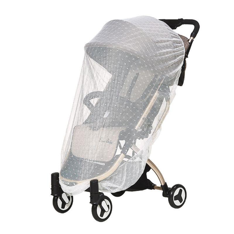 Infants Baby Stroller Mosquito Net Safe Mesh Buggy Crib Netting Cart Mosquito Net Pushchair Full Cover Netting
