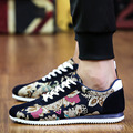 2017 Shoes Man New Breathable Canvas Loafers Lace up Casual Shoes Hot Sales Fashion Flats Superstar Zapatillas B117