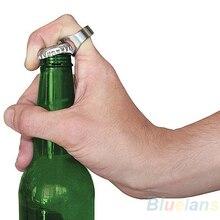 Бар вечерние открывалка для бутылок пива кольцо красивый матовый нержавеющая сталь удобный день отца BID8