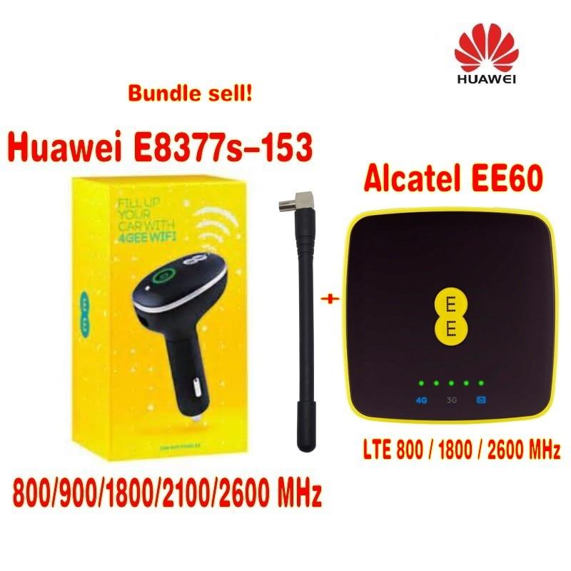 (Bundle sell $100)Alcatel EE60 4G Portable MIFI Hotspot Modem +Unlocked Huawei CarFi E8377 LTE Hotspot 4G LTE vodafone r210 4g lte mifi hotspot