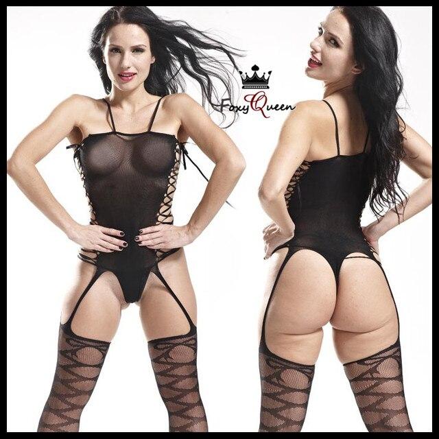 женское белье кружевное чулки порно