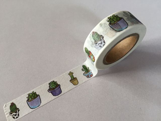 Cactus Decorative Washi Tape